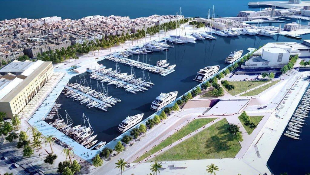 Marinas and ports