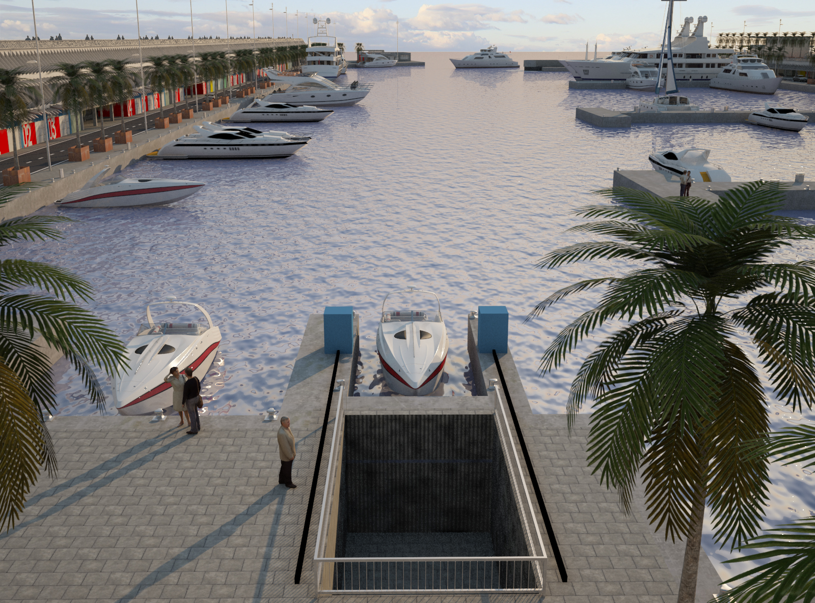 Flovac S Vacuum Sewage Installation In Marina Vela Is