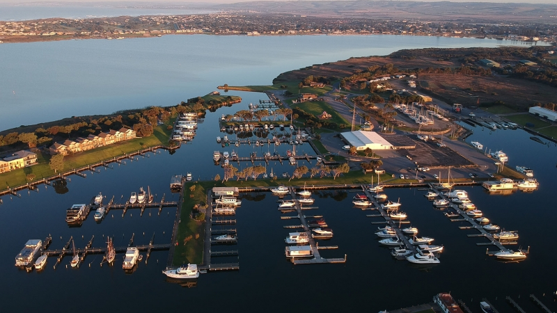 Coorong Quays. Flovac Vacuum Sewer System.