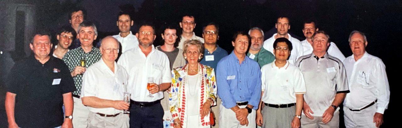 Pat Radinoff era la única mujer presente