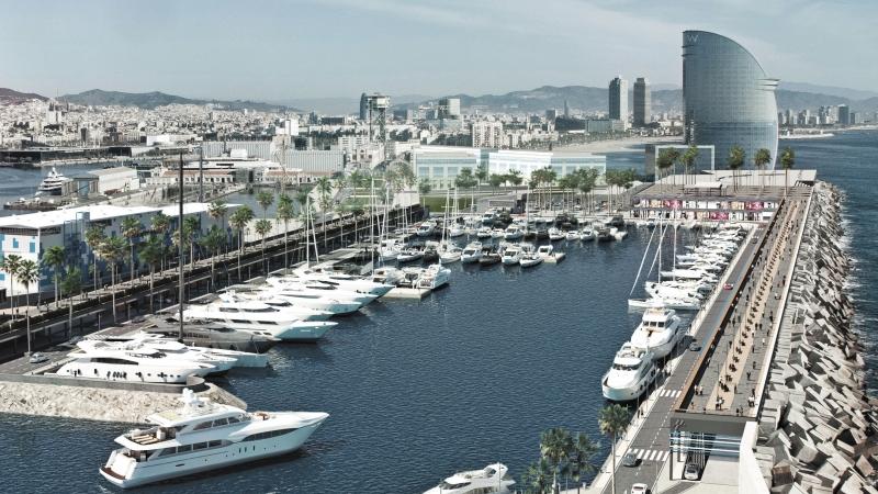 Puerto deportivo Marina Vela Barcelona
